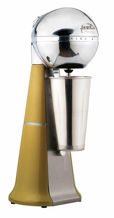 A-2001 Retro Gold Drink Mixer with inox cup. #gold