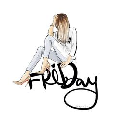 Image uploaded by eladvi. Find images and videos about text, drawing and friday on We Heart It - the app to get lost in what you love. Fashion Drawings, Fashion Sketches, Fashion Illustrations, Fashion Quotes, Fashion Art, Girl Fashion, Fashion Design, Hello Friday, Happy Friday