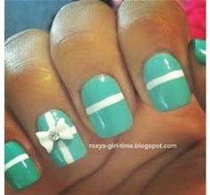 Cool 3-d nail  art