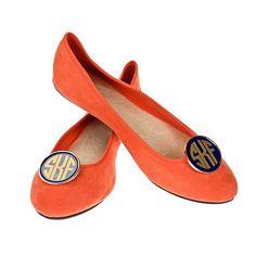 Personalized Monogram Shoe Clip. $30.00, via Etsy.