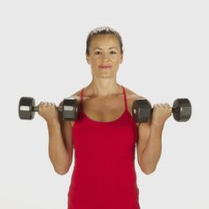 Get Sexy Shoulders and Toned Triceps With Our Tank-Top Workout: A very good and quick arm workout ~ Lolly Arm Workout Videos, Workout Pics, Workout Routines, Fitness Routines, Barre Workout, Triceps Workout, Workout Ideas, Treadmill Workouts, Arm Workouts