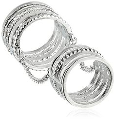 BCBGeneration Chain Link Stackable Ring, Size 7 is on sale now for - 25 % !