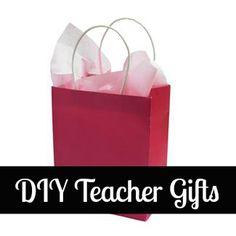 DIY Teacher Gifts.