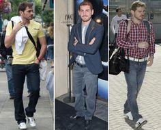 Iker Casillas  http://deletracomestilo.wordpress.com/2013/04/26/os-jogadores-de-futebol-mais-estilosos-do-mundo/