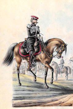 Officer of Lublin Cavalry of November Uprising. Oficer jazdy lubelskiej-R.rupniewski