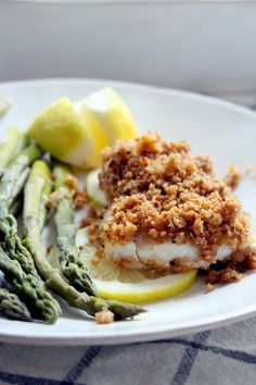 New England baked haddock is one of the most delicious fish dishes you will ever have, yet it is so simple! With only three ingredients and 5 minutes of hands-on time, you will have an elegant, crowd-pleasing meal. Fish Dishes, Seafood Dishes, Seafood Recipes, Cooking Recipes, Main Dishes, Salmon Recipes, Drink Recipes, Dinner Recipes, Healthy Baked Fish Recipes