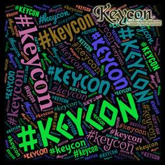 Remember to use #Keycon when posting about Keycon on social media. Help us build our brand.