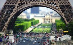 Under Eiffel Tower - Paris, French