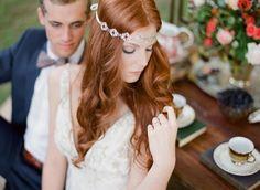Farbowanie włosów przed ślubem – a może jednak kolor rudy? - Artykuły ślubne - Ślubowisko