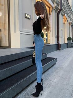 beautiful autumn and winter outfits- schöne Herbst und Winteroutfits beautiful autumn and winter outfits - Very Skinny Girls, Skinny Girl Body, Super Skinny, Girl Outfits, Cute Outfits, Fashion Outfits, Elegantes Outfit Frau, Skinny Inspiration, Style Feminin