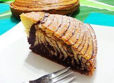 Torta zebrata http://www.lovecooking.it/dolci/torta-zebrata/
