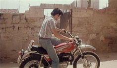 Los placeres ocultos, 1976. Bultaco Alpina