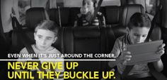 SFC Blog: Families Matter: Never Give Up Until They Buckle Up
