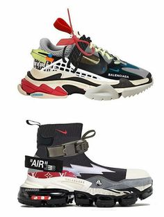 The future is dark : Sneakers Balenciaga Shoes, Crazy Shoes, Me Too Shoes