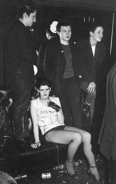 Punks at the Roxy London, April 1977 – Richard Braine