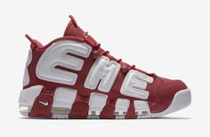 2666d2ccc238 New Arrival Supreme x Nike Air More Uptempo Varsity Red White 902290-600  April 29