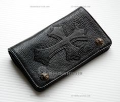 Chrome Hearts Cross Cemetery Zip Button Black Leather Wallet [Chrome Hearts Wallet] - $346.99 : Discount Hong Kong Chrome Hearts Accessories, Clothing and Eyewear with Low Price  http://www.hongkongchromehearts.com/
