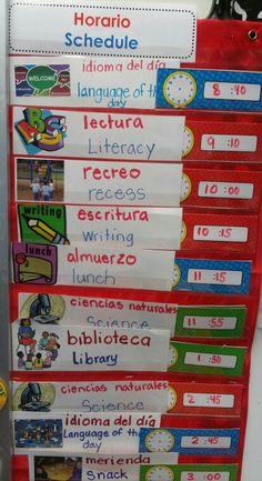horario escolar