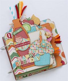 Jillibean Soup Birthday Bisque and Simple Stories Homespun...a look at the May 1st releases