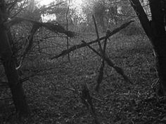"From ""The Blair Witch Project"" The original stick baby. So simplistic and effective."