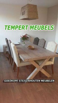 ... tafel / eettafel met kruispoot - Tafels  Eettafels - Marktplaats.nl