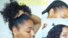 Nighttime Hair Routine for HAIR GROWTH | Stimulate Slow Inactive Hair Follicles - YouTube #haircareroutineblackwomen,