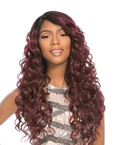 'Shinee -Full Wig - Couture- made with 100% Heat Resistant Synthetic Fiber by Sensationnel