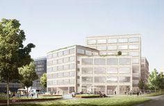 Tham & Videgård, Stenhöga office buildings, Solna