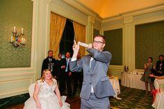 Grand America hotel wedding reception. Craig and Flora's reception taken by Jaclyn Davis.
