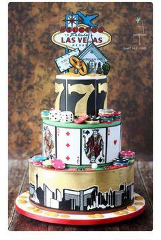 Las Vegas Cake For Weddings Or Birthdays Casino