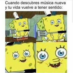 Memes are absolute love as you can enjoy and have fun not only by viewing them but also by tagging each other and these memes will make you laugh out of the box. ARE 25 spongebob memes love Funny Spongebob Memes, Funny Relatable Memes, Funny Jokes, Hilarious Stuff, Spongebob Funny Pictures, Funny Pics, Funny Band Memes, Meme Pics, Cartoon Memes