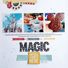 Layout: Disney Magic
