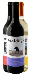 Real Dogs Wine: Customize your wine bottles with a picture of your pooch. Perfect Christmas gift!