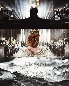 The wolves will come again. Queen Sansa, Queen in the North. (I'd really rather see Sansa be Queen than Jon be King. Let Jon be Azor Ahai.)