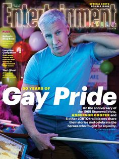 Neil Patrick Harris Joins Ruby Rose & More For 'Entertainment Weekly's Gay Pride Issue: Photo Neil Patrick Harris joins Ruby Rose, Anderson Cooper and Melissa Ethridge on the covers of Entertainment Weekly's annual Gay Pride issues, available June … Stonewall Riots, Berklee College Of Music, Neil Patrick Harris, Anderson Cooper, Entertainment Weekly, Political Science, Gay Pride, Growing Up, Photoshoot