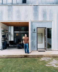 Shawn Moseley helped design his new home in central Atlanta.
