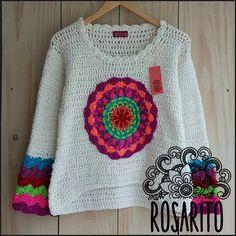 Crochet Woman, Love Crochet, Crochet Baby, Knit Crochet, Crochet Jumper, Crochet Cardigan, Crochet Designs, Crochet Patterns, Loom Knitting Projects