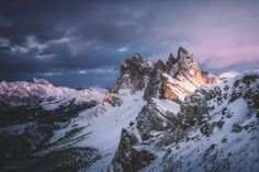 Seceda Glow - Shot this photo on my trip to Italy in February. After a long hike in the morning, we decided to reach this peak for sunset. At -18°C and strong winds, any engagement has been rewarded with this spectacular view for a few minutes. We packed our stuff then and started the hike down to the valley again through the night.  If you like my work, feel free to follow me on facebook, instagram and on 500px, for sure!