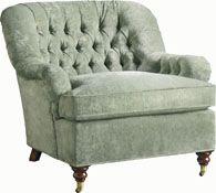 "Baker - Richmond Lounge Chair No. 6129c (Michael S Smith Collection) - 34""W x 36""D x 34""H"