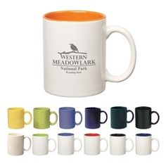 Colored Stoneware Mug With C-Handle - Product Catalog