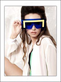 Plastic Adventure Fashion Editorials; Space Style' photographed by Araceli Adeva.