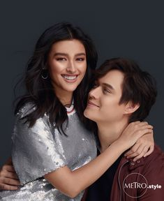 EXCLUSIVE: Real-Life Couple Liza Soberano And Enrique Gil Have Some Sweet Revelations About Each Other - Metro Style Enrique Gil, Liza Soberano, Sophie Turner Joe Jonas, Filipino Models, Metro Style, Silver Sequin, Celebs, Celebrities, Beautiful People