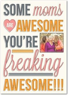 Freaking Awesome - Mother's Day Greeting Cards - Magnolia Press - Pearl - Neutral : Front