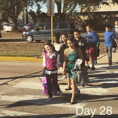 """""""Day 28 - picking Zoey up from school.  #365"""""""