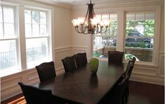 Decorating design idea for dining room