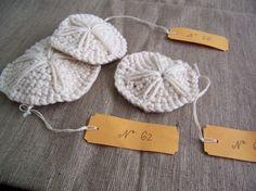 crochet sand dollars