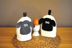 We love these egg cosie's at BaaBaby Baa x