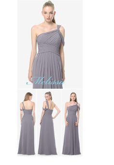 Melissa bridesmaid dress by David Tutera for Gather & Gown,  In Shadow for your grey themed wedding.