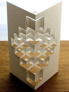 New Origami Architecture Kirigami Paper Art Ideas Origami Rose, Origami And Kirigami, Origami Paper Art, Paper Crafts, Foam Crafts, Architecture Pliage, Architecture Origami, Architecture Art, Origami Design