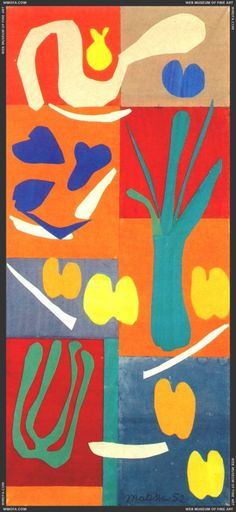 Henri Matisse Légumes, ca. 1951
